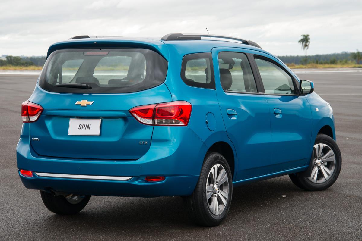 Chevrolet Spin muda bastante na linha 2019 - Blog da Jocar