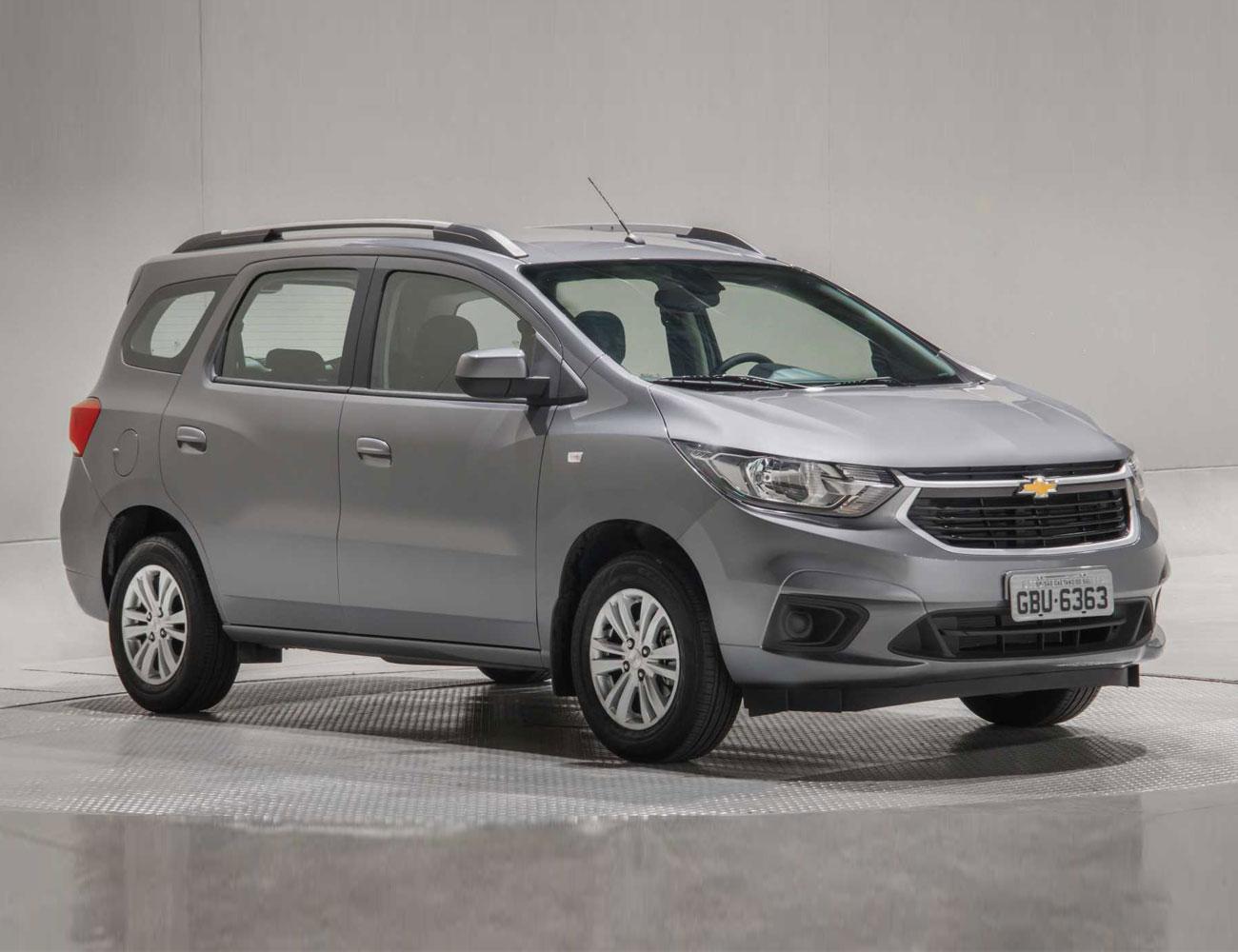 Chevrolet Spin (divulgação)